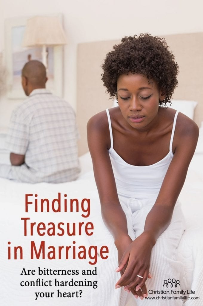 It is easy to let bitterness and conflict harden our hearts, especially in marriage. Intimacy is hard work and we have to dig for it. Sometimes finding intimacy is like finding buried treasure in marriage.