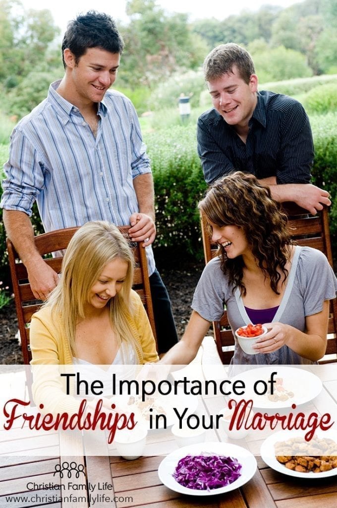 The importance of developing friendship in your marriage helps make your marriage healthy and sustainable.