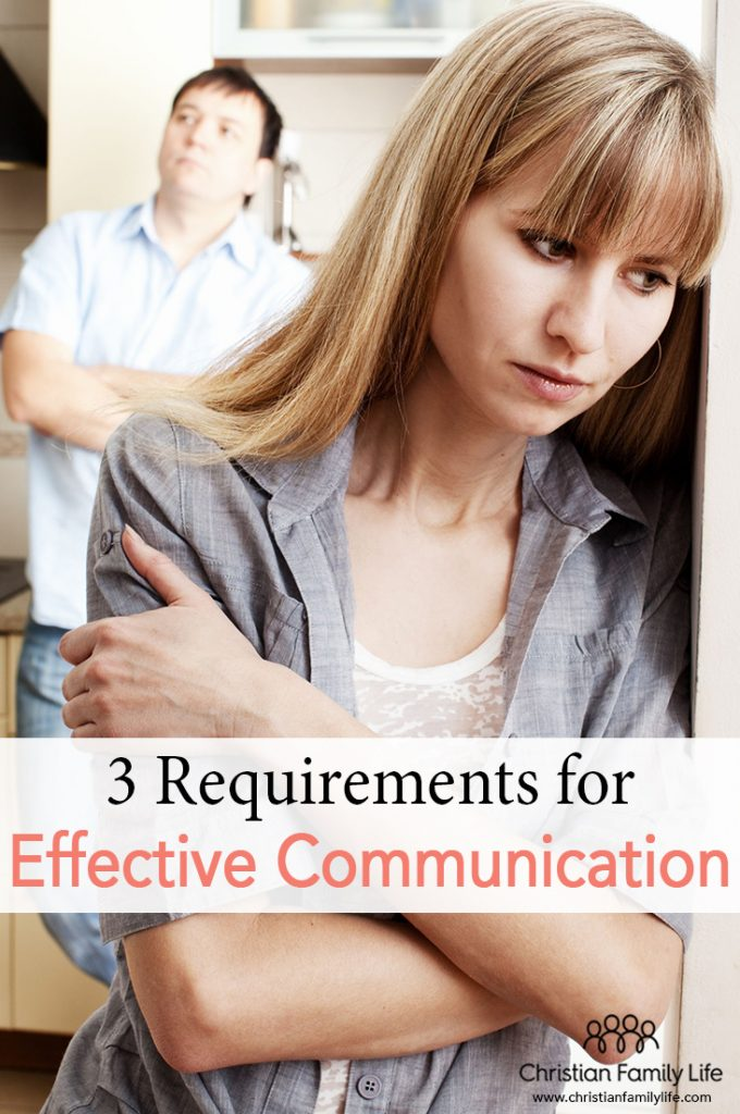 Effective communication does not come naturally for most couples. It is perhaps one of the most difficult aspects of marriage, especially when we allow our selfish desires control our actions. Follow these 3 requirements for healthy communication in your marriage.