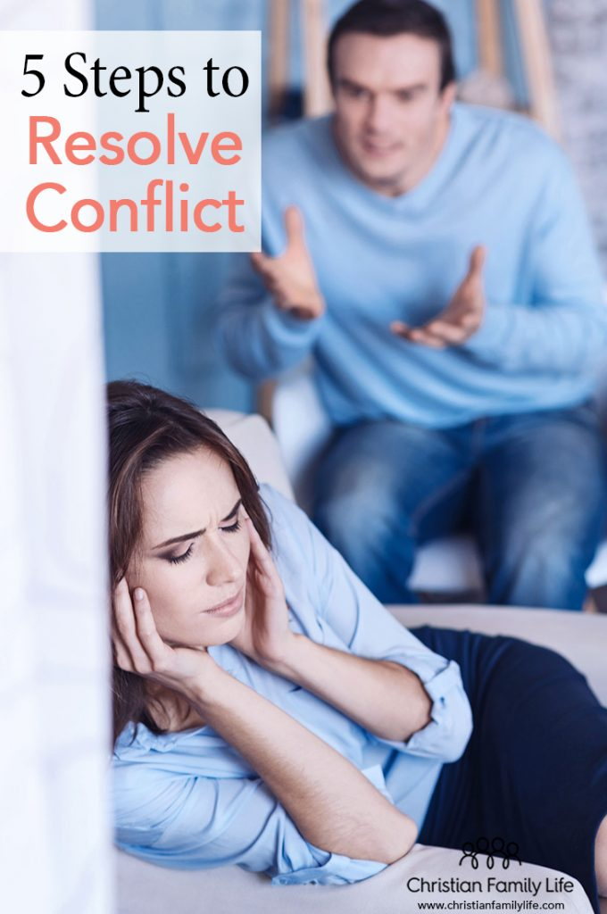 "All marriages at some point or another will have conflict. It's not an ""if"" there is a conflict; it's ""when."" These 5 steps to resolve conflict will help your marriage get back on the right track and restore oneness."